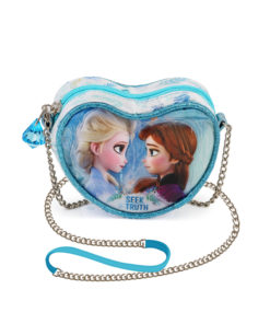 """Bolsa em Coração Frozen """"Seek The Truth"""""""