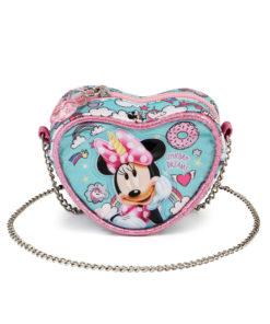 """Bolsa Minnie em Coração """"Unicorn Dreams"""""""