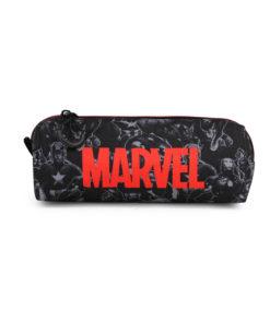 Estojo Quadrado Marvel Preto