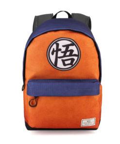 """Mochila Escolar Dragon Ball Laranja """"Symbol"""""""