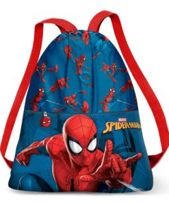 Saco de Desporto Spiderman Azul Crawler