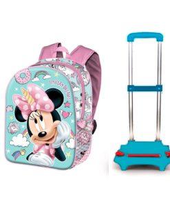 """Trolley Escolar Minnie """"Unicorn Dreams"""""""