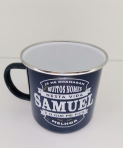 Caneca Samuel H&H de Esmalte