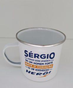 Caneca Sérgio H&H de Esmalte