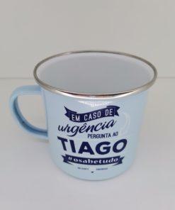 Caneca Tiago H&H de Esmalte