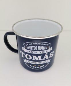 Caneca Tomás H&H de Esmalte