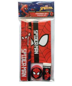 Conjunto de Escrita Spiderman 5 Peças