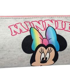 Estojo Redondo Minnie Cinzento Pom Pom