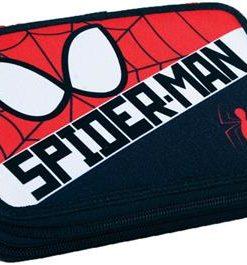 Estojo Spiderman Duplo Vermelho