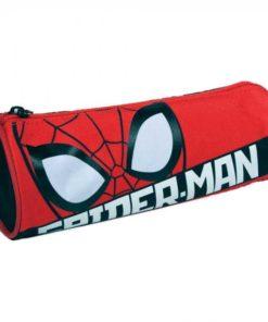 Estojo Spiderman Redondo Vermelho