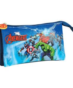 "Estojo Triplo Avengers ""Ice Storm"""