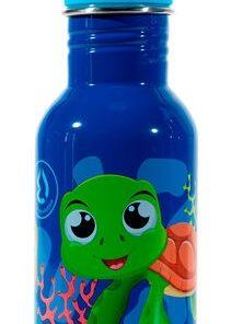 Garrafa Termo Water Revolution Kids Tartaruga