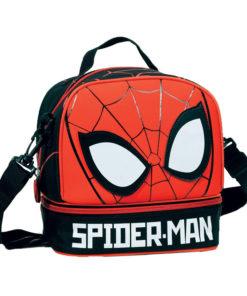 Lancheira Spiderman Térmica Vermelha