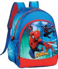 "Mochila Escolar Spiderman ""City Protection"""