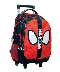Trolley Escolar Spiderman Vermelha