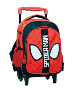 Trolley Infantário Spiderman Vermelha