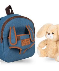 "Mochila Azul Be My Friend ""Coelho Bunny"""