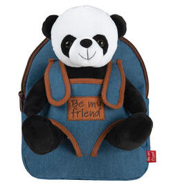 "Mochila Azul Be My Friend ""Panda Paul"""