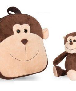 Mochila Reversível Be My Friend Macaco Max