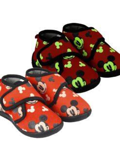 Pantufas Bota Mickey Luminosas (21-26)