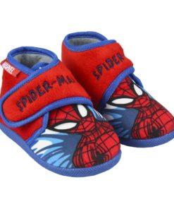 Pantufas Bota Spiderman Azuis c/ Velcro (23/28)