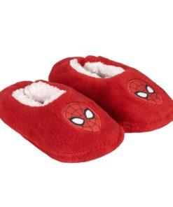 Pantufas Meia Spiderman Vermelhas (28-33)