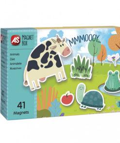 Jogo Magnet Box de Animais Íman