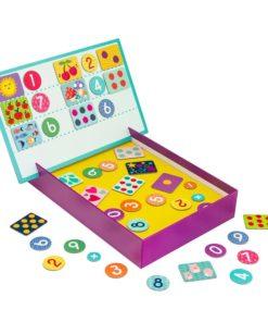 Jogo Magnet Box de Números Íman