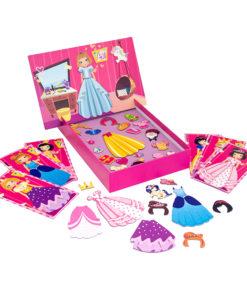 Jogo Magnet Box de Princesas Íman