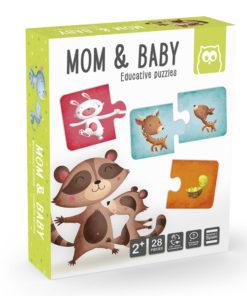 Puzzle Mamã e Bebé EKids 28 Peças