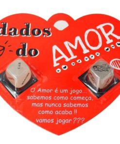 Dados do Amor 2 em Embalagem de Coração