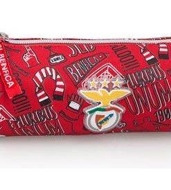 Estojo Redondo Sport Lisboa Benfica c Desenhos