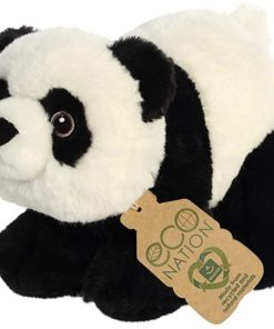 Peluche Panda Eco Nation 23 cm