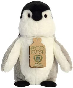 Peluche Pinguim Eco Nation 24 cm