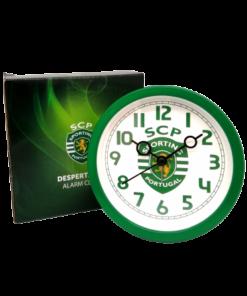 Relógio Despertador Sporting Redondo