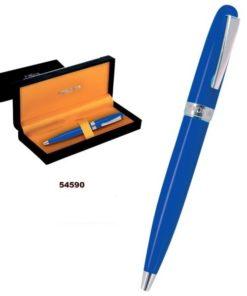 Esferográfica Azul Perona c/ Caixa.