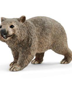 Wombat Schleich Castanho