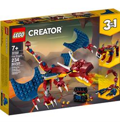 Dragão de Fogo Lego Creator