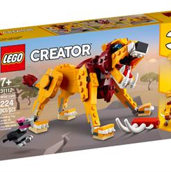 Leão Selvagem Lego Creator
