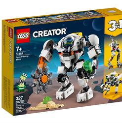 Mech de Exploração Mineira Espacial Lego Creator