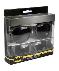 Conjunto Óculos de Sol Adulto e Criança Batman