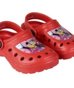 Croc's Minnie Vermelhas com Bolinhas