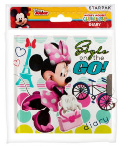 "Diário Minnie ""Style On The Go!"""