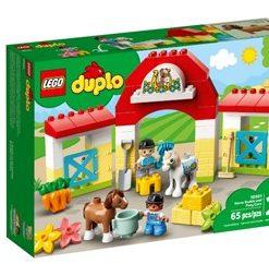 Estábulo de Cavalos Cuidar dos Póneis Lego Duplo