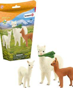 Família de Alpacas Schleich