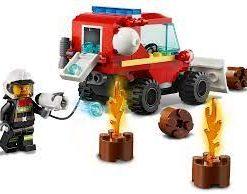 Jipe de Assistência dos Bombeiros Lego City Fire