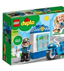 Mota da Polícia Lego Duplo Town.