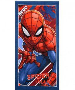 "Toalha de Praia Azul e Vermelha ""Hero"" Spiderman"