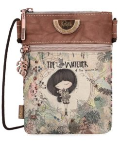 "Bolsa Tiracolo c/ Fio Anekke Jungle ""The Watcher"""
