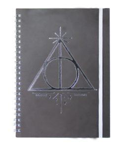 Caderno Harry Potter c/ Elástico (Vários Desenhos)